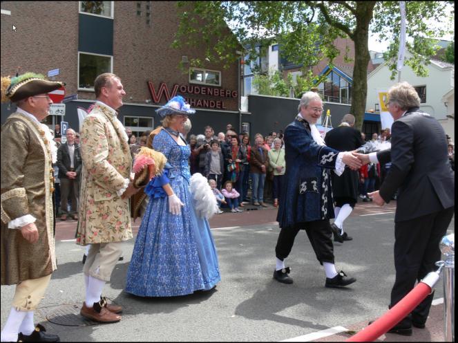 Feierlichkeiten anlässlich 750 Jahre Stadtrechte in Wageningen