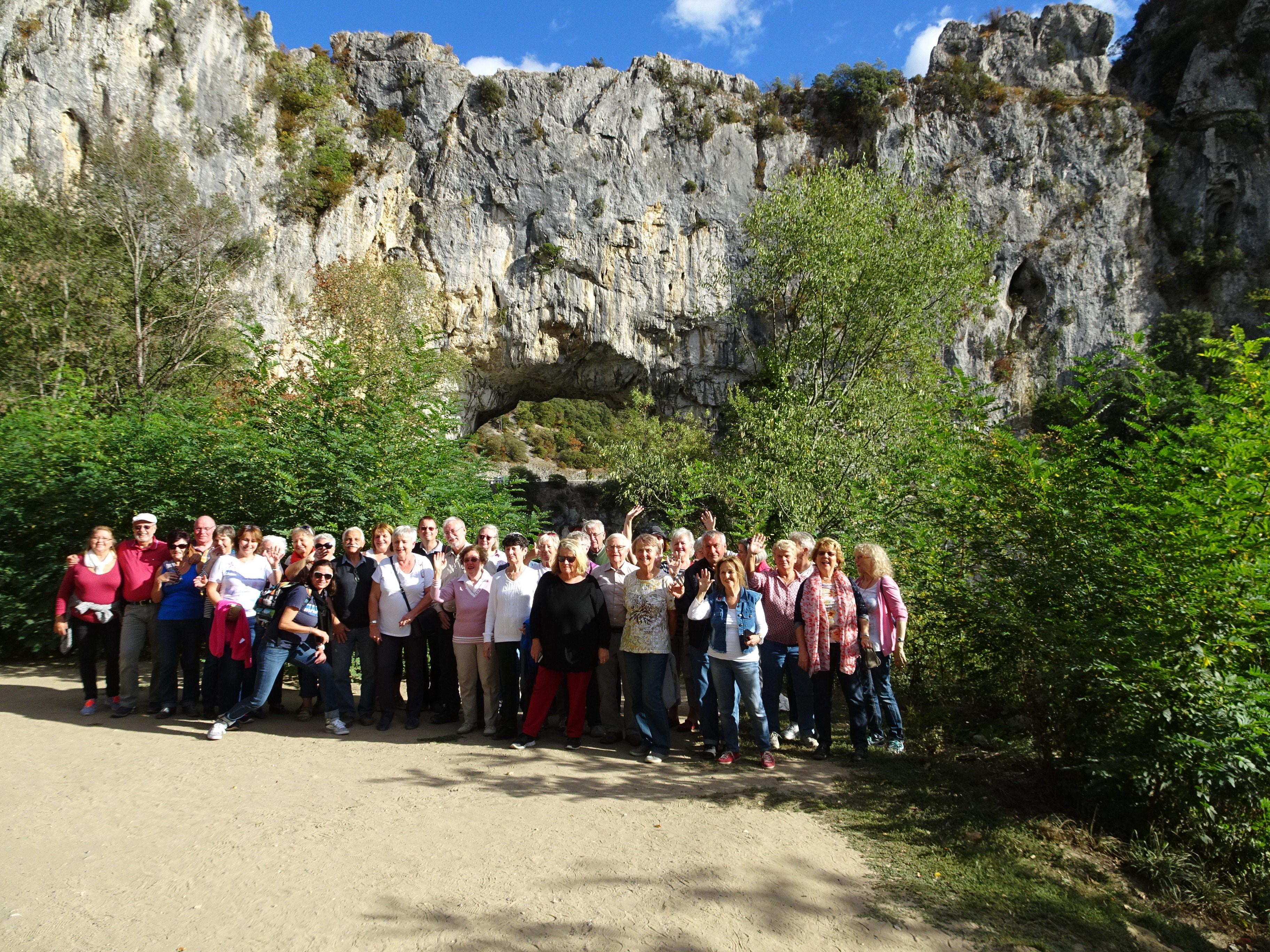 Bericht über die Busreise des Freundeskreises Städtepartnerschaft nach Vitrolles vom 7.-12.10.2017
