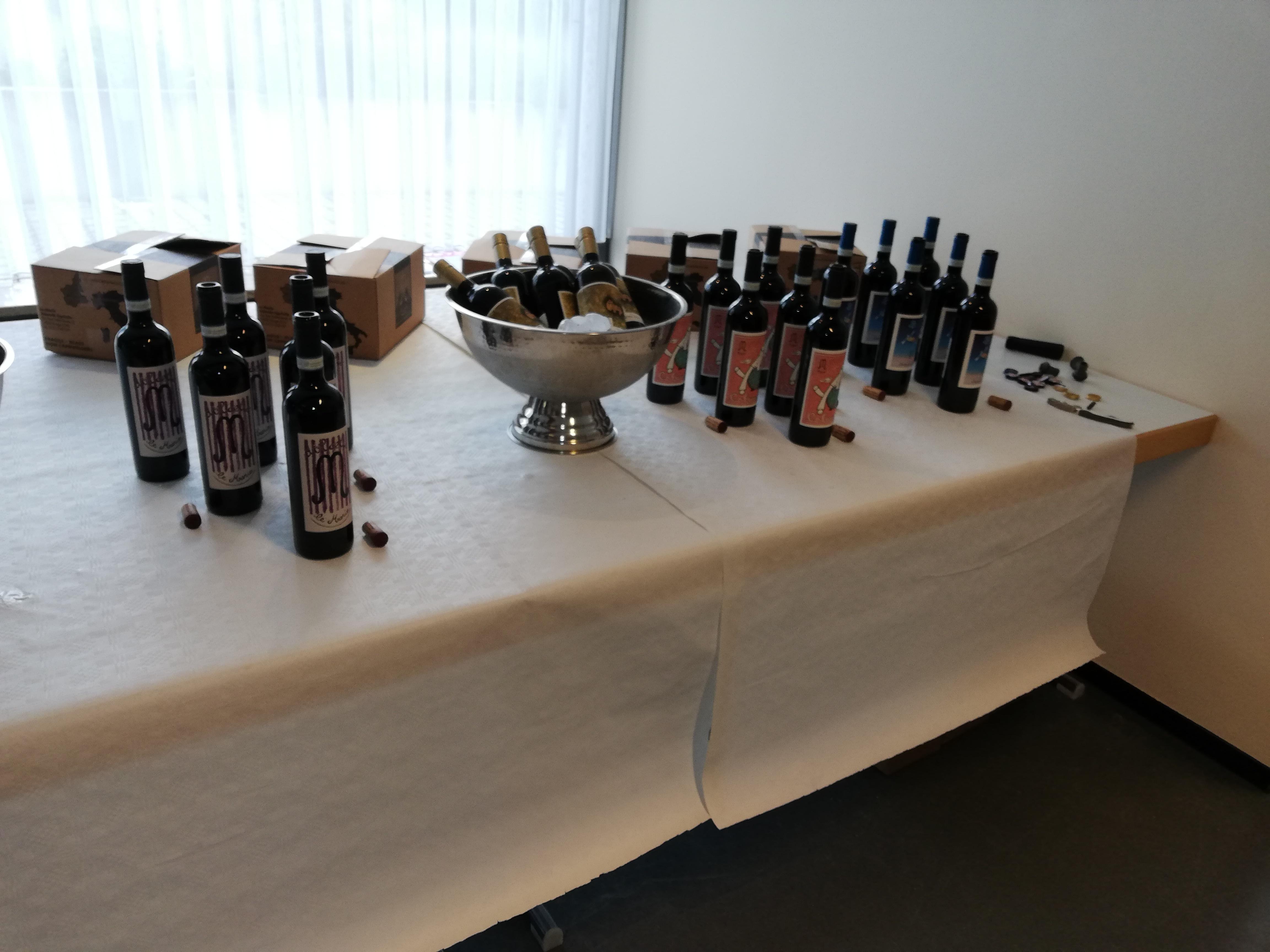 Weinprobe Spitzenweine aus dem Piemont